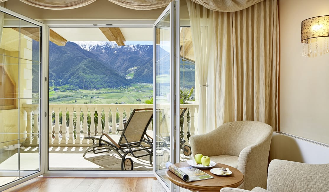 Luxury Suite Lavendel balcony