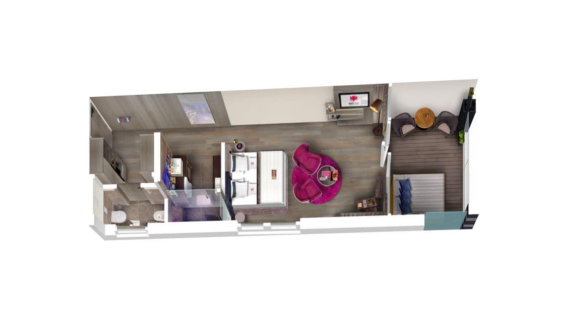 Comfort Room Pink Love