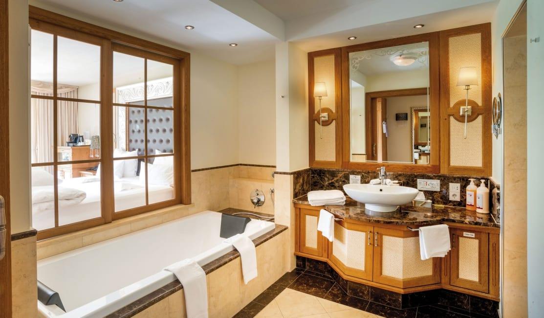 Badezimmer Lavendel  / Lantana