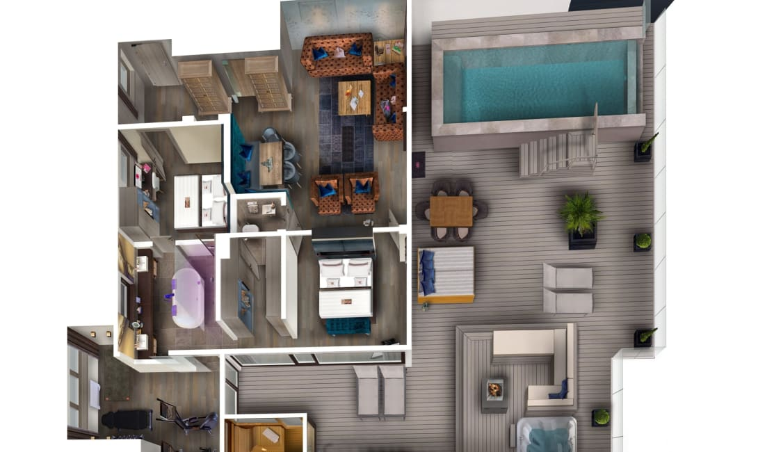 Penthouse Suite DolceVita Premium