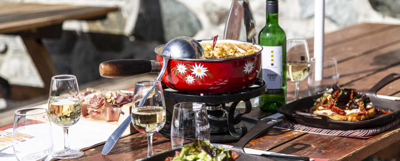 Cuisine Fermée En U cabane bella-tola