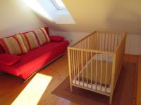 Gitterbett ohne Aufpreis - Babys und Kinder sind herzlich willkommen.