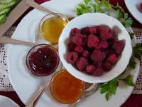 Genuss mit Beeren aus dem Garten