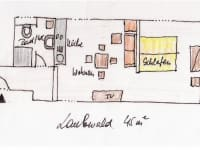 Grundriss Laubwald