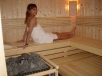 Eine Sauna für Sie alleine