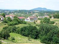 ein Blick über Altenhof nach Bad Gleichenberg