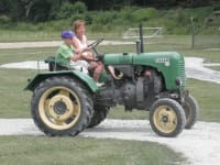 Traktorfahren im Abenteuerland