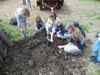 Schule am Bauernhof Der Kompost