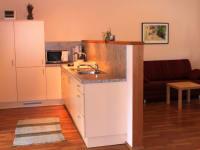 Küche/Wohnr. fewo 1