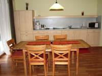 Küche/Essplatz Fewo2