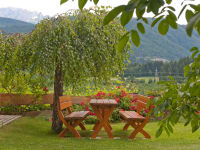 Ferienhaus - im Garten