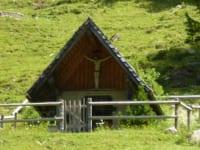 Jägerkapelle in der Alm