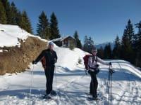Mit Schneeschuhen unterwegs in den Gailtaler Alpen
