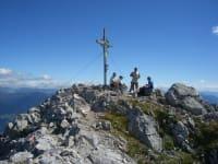 Am Gipfel des Reißkofel