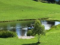 Idylle am Teich
