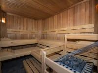 Saunabereich - finnische Sauna
