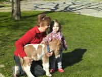 Knut mit Emelie u.Anneliese