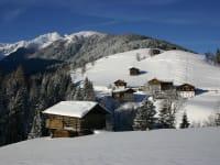 Blick nach Süden im Winter