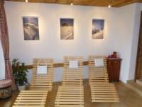 Wohliger Ruheraum in der Sauna