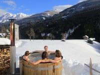 Hot-Tub im Garten