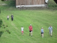 Nordic Walking macht Spass . . .