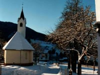 Winterlandschaft - Kapelle
