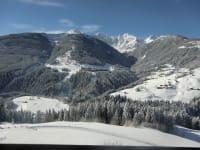 Winterblick vom Balkon