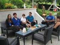 Kaffeetratsch mit unseren Freunden aus Wien