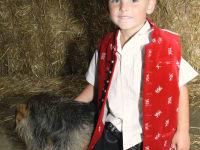 Thomas unser Enkel mit seiner Remi