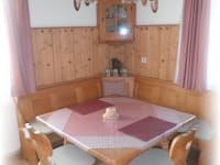 Almhaus - Küche Sitzecke