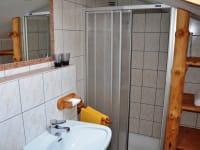 Badezimmer der Knechtwohnung
