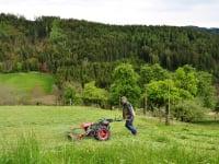 Heumahd am Bergbauernhof