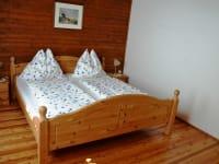 Schlafzimmer im Jägerheim