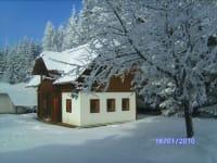Alte Schmiede im Winter