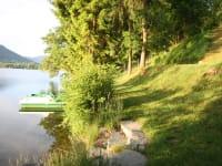 eigener Seezugang am Längsee