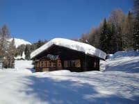 Die Müllerhütte im Winter