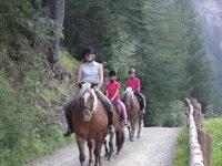 Reiterinnen im Einsatz