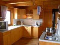 Vollausgestattete, große Küche