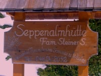 Your home from home - our Seppenalmhütte