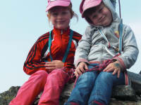 Celina und Julia am Auernig!
