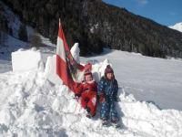 Spaß im Schnee...