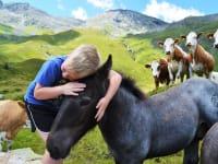 Josef mit Fohlen Maestro
