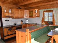 Küche - Holzherd, Kochbereich