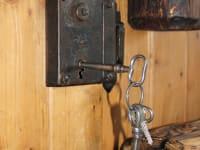 Der Schlüssel sperrt nach 260 Jahren immer noch :)