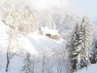 Unser Hof in den Wintermonaten