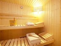 Die Sauna im Badezimmer