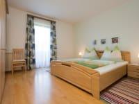 Schlafzimmer Gartenblick
