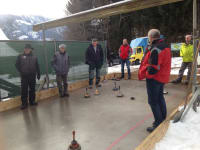 Eisstockschiessen auf der Hofbahn