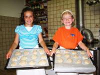 Brotbacken im Ferienhof Hoffmann
