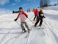 Skifahren am Weissensee
